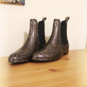 Sparkly ModCloth Rain Boots